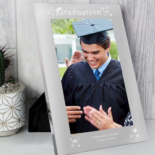 Graduation 7x5 Silver Photo Frame